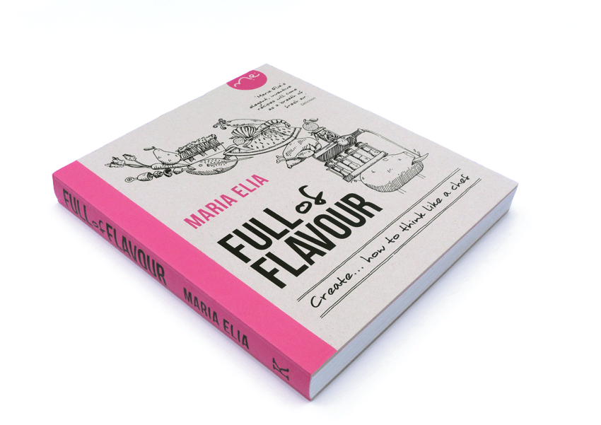 Full of Flavour Book | Maria Elia, Kyle Books | Makemark