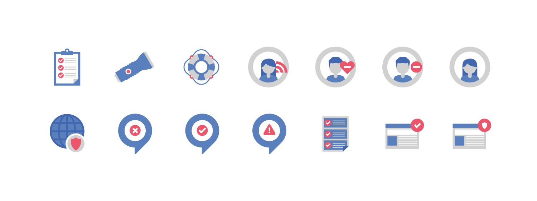 Safety Center Illustrations | Facebook | Makemark
