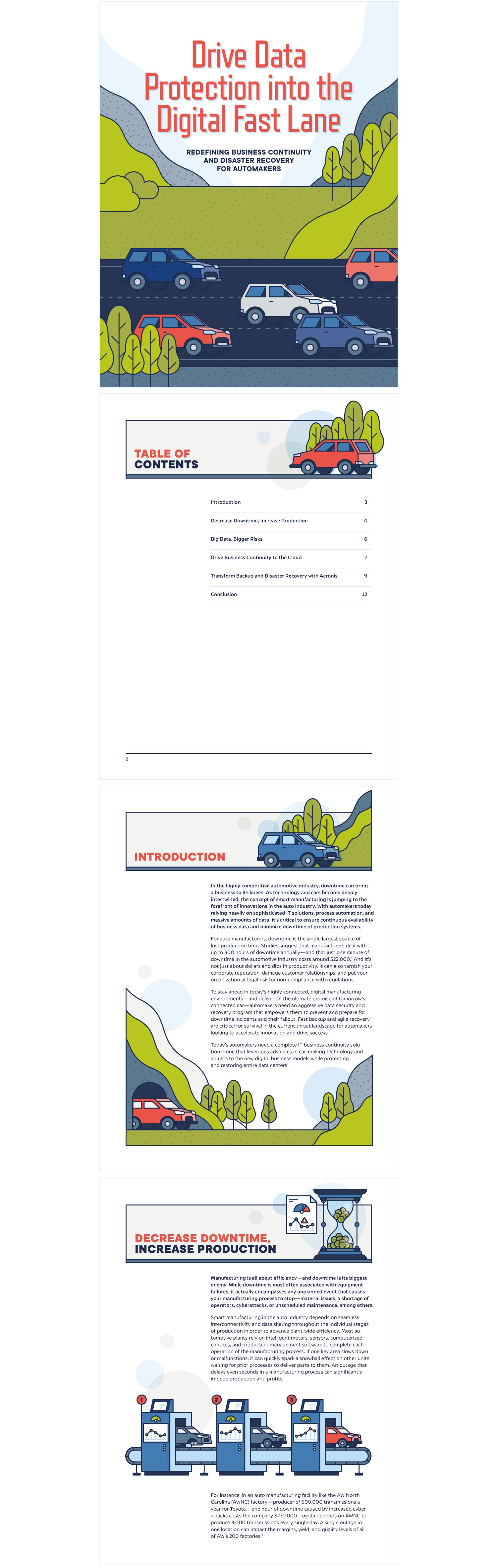 Digital Fast Lane White Paper | Acronis, Spiceworks | Makemark