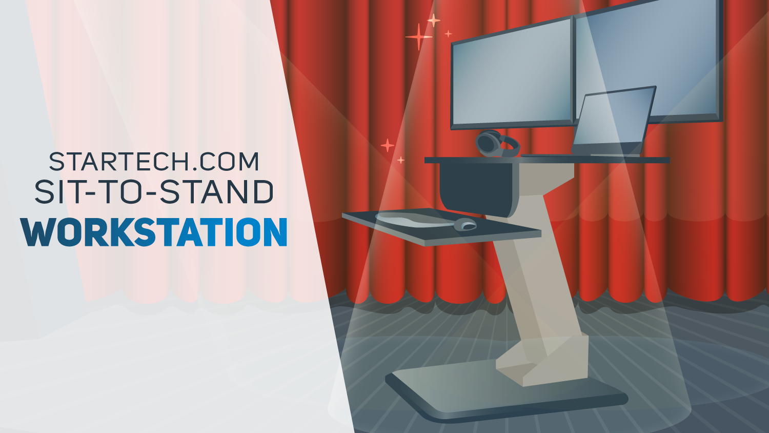 Ultimate Workstation Animation Illustrations | Startech, Spiceworks | Makemark