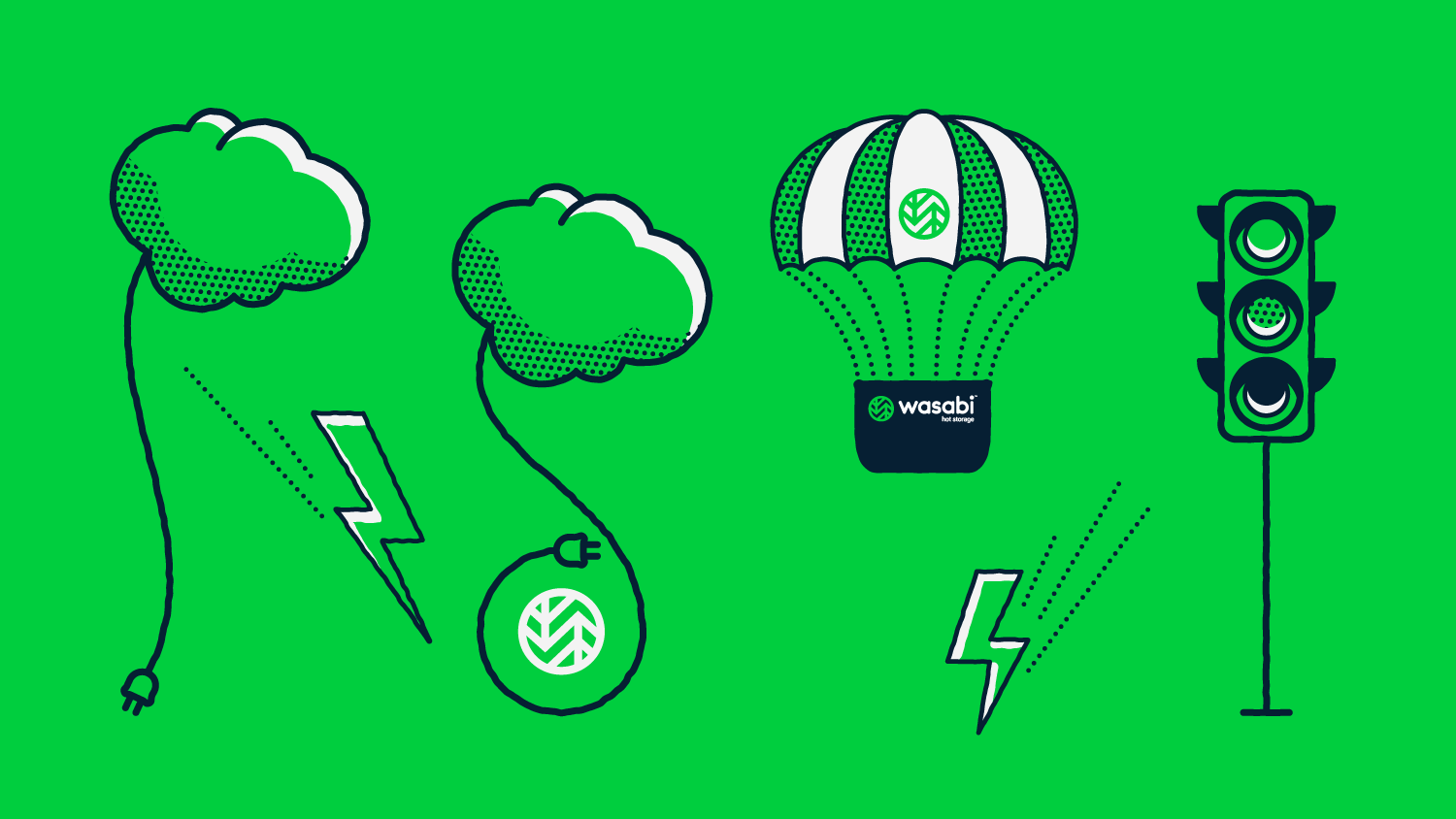 Wasabi Animation Illustrations | Wasabi, Spiceworks | Makemark