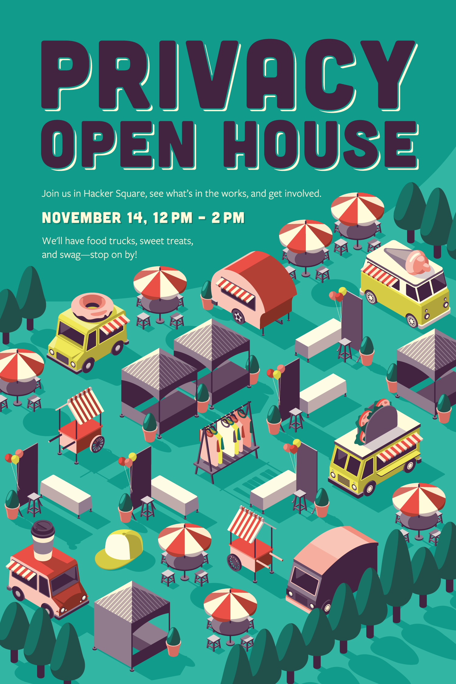 Privacy Open House Poster | Facebook | Makemark