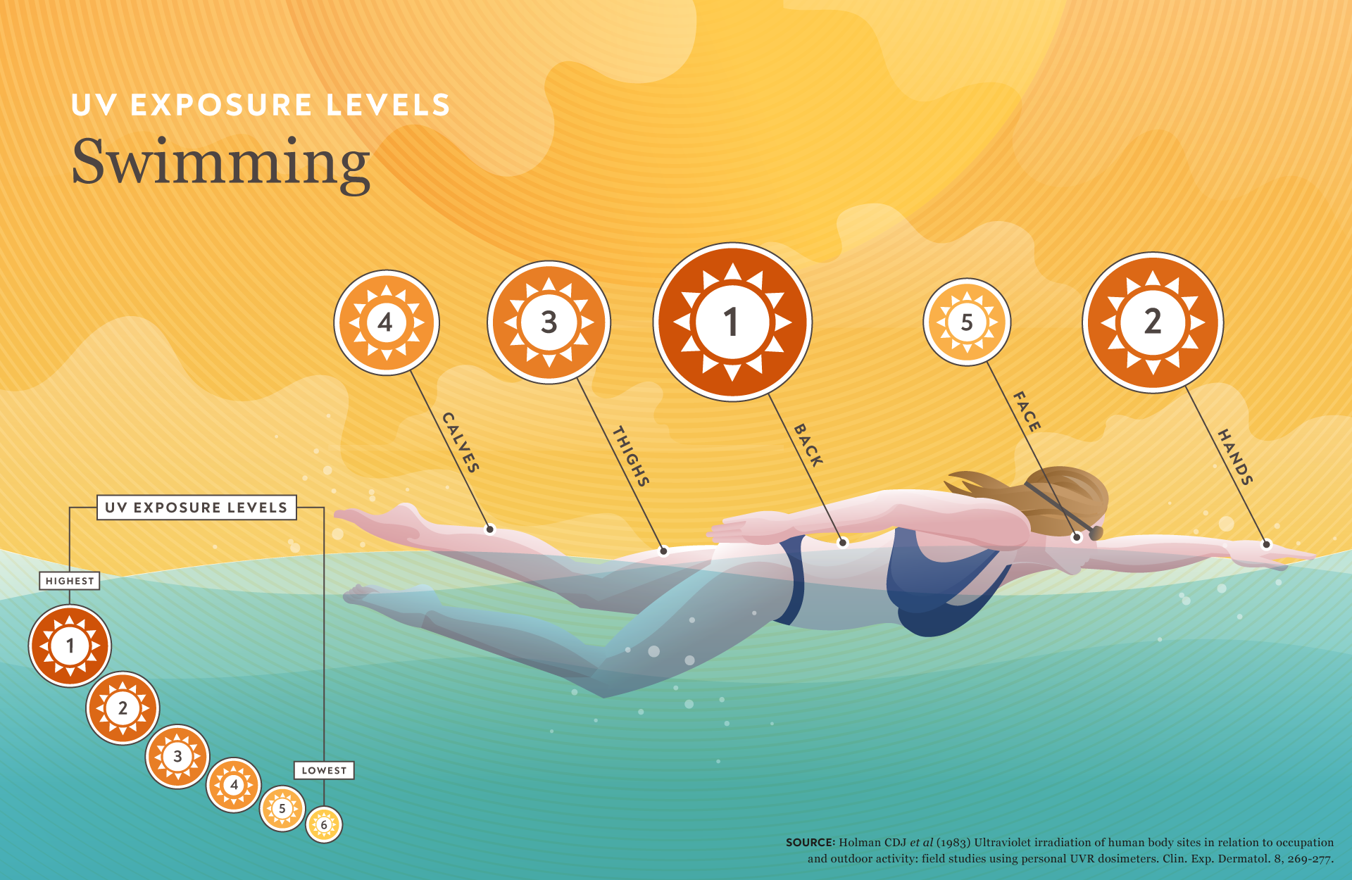 UV Exposure Infographic Illustrations | CTPA | Makemark